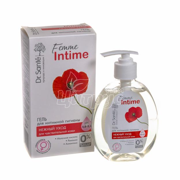 Гель для интимной гигиены Доктор Санте (Dr. Sante) Фем Интим (Femme Intime) Нежный уход 230 мл