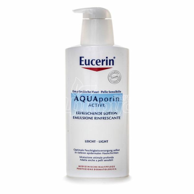 Эуцерин Аквапорин (Eucerin Aquaporin) Гель для душа увлажняющий и освежающий 400 мл