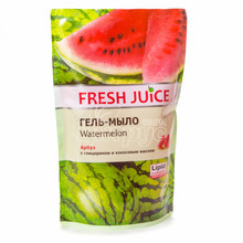 Гель-мыло Фреш Джус (Fresh Juice) Арбуз (Watermelon) Дой-пак 460 мл