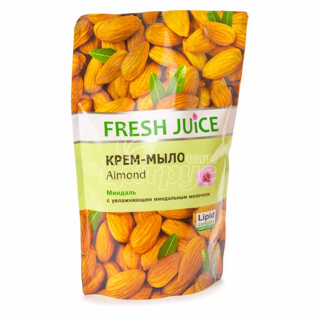 Крем-мыло жидкое Фреш джус (Fresh Juice) Миндаль (Almond) Дой-пак 460 мл