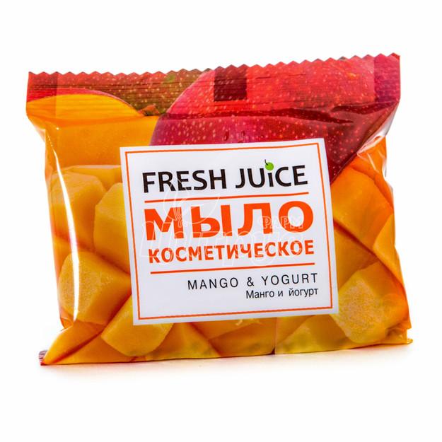 Мыло косметическое Фреш Джус (Fresh Juice) Манго и йогурт (Mango & Yogurt) 75 г
