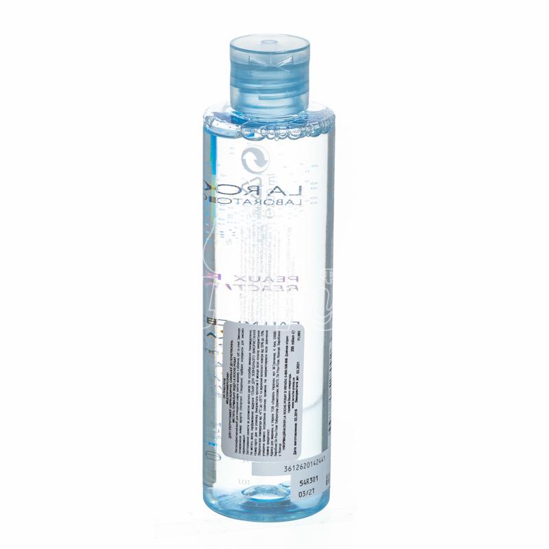 фото 1-2/Ля Рош Позе (La Roche Posay) Вода мицеллярная для очищения чувствительной кожи лица 200 мл