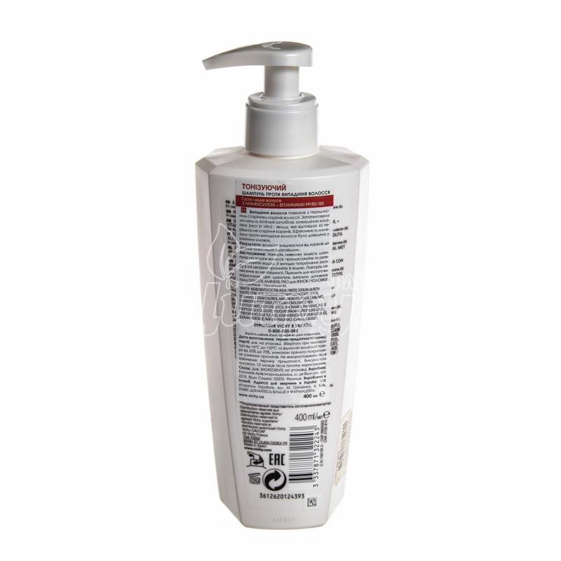 фото 1-2/Виши Деркос (Vichy Dercos) Шампунь тонизирующий с аминексилом  против выпадения волос 400 мл