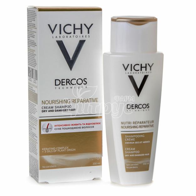 Виши Деркос (Vichy Dercos) Шампунь против перхоти с дисульфидом селена для сухих волос 200 мл