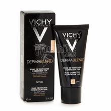 Виши Дермабленд Тон 15 (Vichy Dermablend) Флюид корректирующий матирующий для кожи лица 30 мл