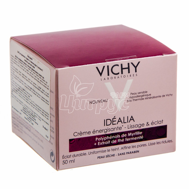 Виши Идеалия (Vichy Idealia) Средство восстанавливающее гладкость и сияние для сухой кожи 50 мл