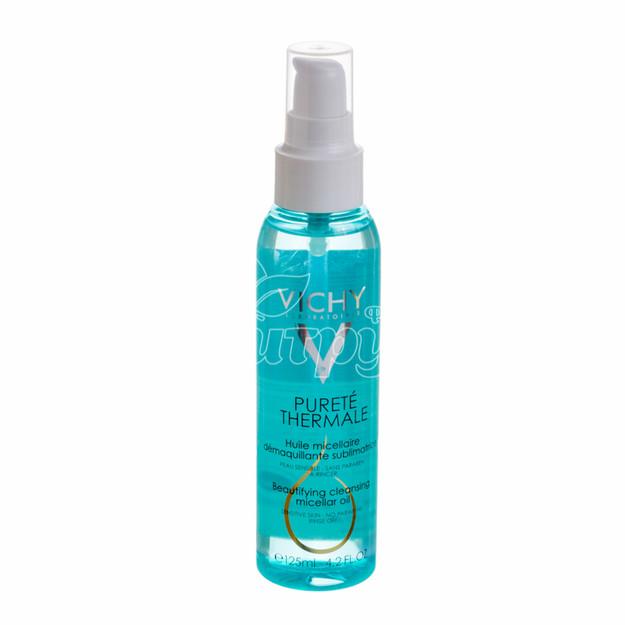Виши Пюрте Термаль (Vichy Purete Thermale) Масло мицеллярное для снятия макияжа 125 мл