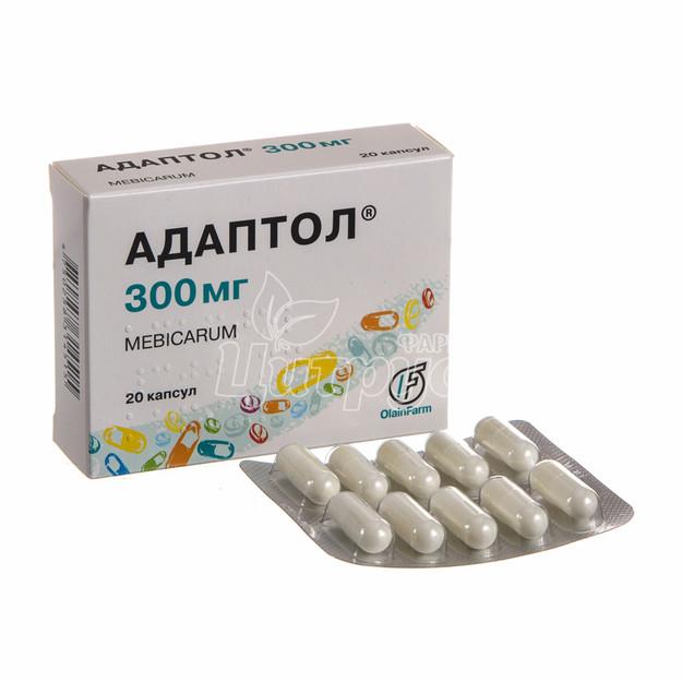 Адаптол капсулы 300 мг 20 штук