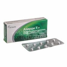 Алерон таблетки покрытые оболочкой 5 мг 30 штук