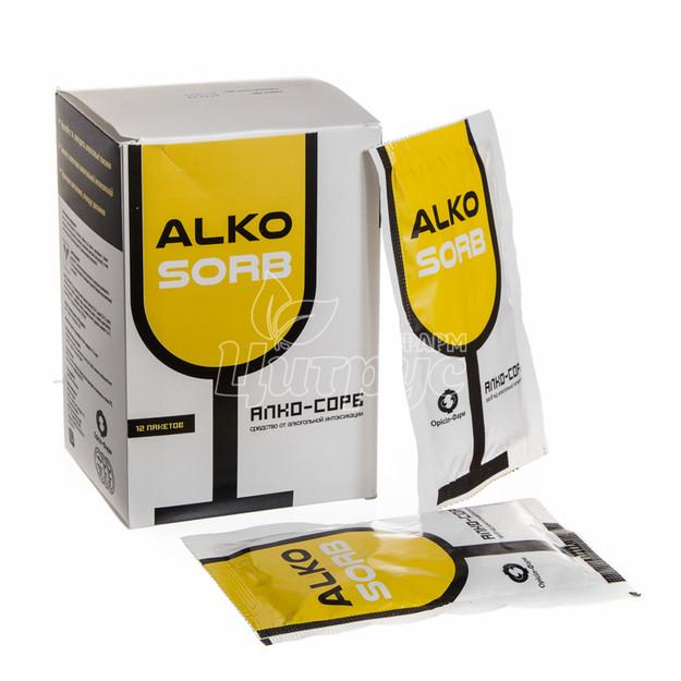 Алко-сорб порошок для приготовления суспензии 7,5 мг 12 штук