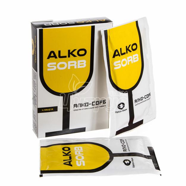Алко-Сорб порошок для приготовления суспензии 7,5 г 4 штуки