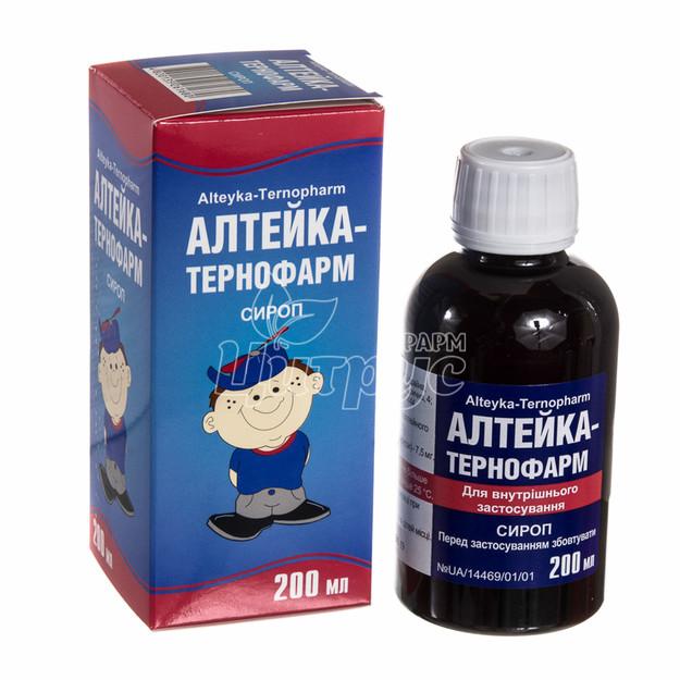 Алтейка-Тернофарм сироп 200 мл