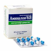 Аминалон-КВ капсулы 250 мг 50 штук
