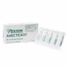 Анестезол суппозитории ректальные 5 штук
