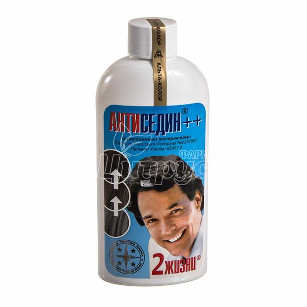Антиседин++ Лосьон для восстановления цвета седых волос 200 мл