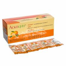 Аскоцин таблетки жевательные 100 штук