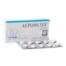 Аэрофиллин таблетки 400 мг 20 штук