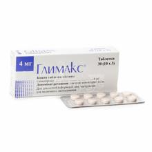 Глимакс таблетки 4 мг 30 штук