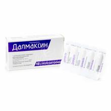 Далмаксин суппозитории 200 мг 10 штук