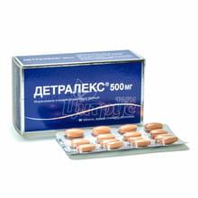 Детралекс таблетки покрытые оболочкой 500 мг 60 штук