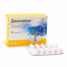 Диалипон капсулы 300 мг 30 штук