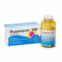 Йодомарин таблетки 100 мкг 100 штук