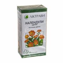 Календулы цветки цветки 1,5 г фильтр-пакет 20 штук