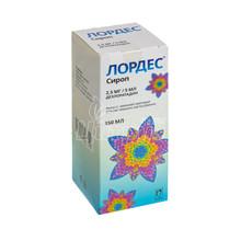 Лордес сироп 2,5 мг/5 мл 150 мл