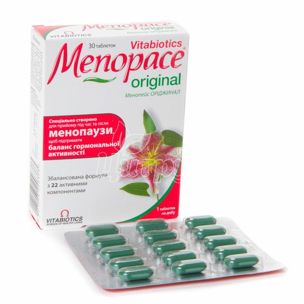 Менопейс Ориджинал таблетки 30 штук