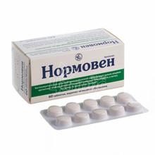 Нормовен таблетки покрытые оболочкой 60 штук