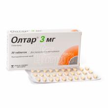 Олтар таблетки 3 мг 30 штук