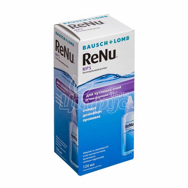 Реню Мпс (Renu Mps) Раствор для контактных линз 120 мл
