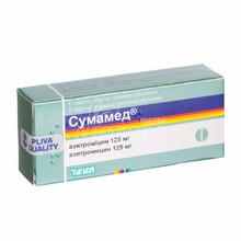 Сумамед таблетки покрытые оболочкой 125 мг 6 штук