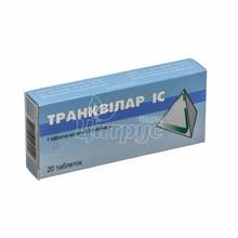 Транквилар IC таблетки 300 мг 20 штук