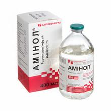 Аминол раствор для инфузий 400 мл бутылка 1 штука