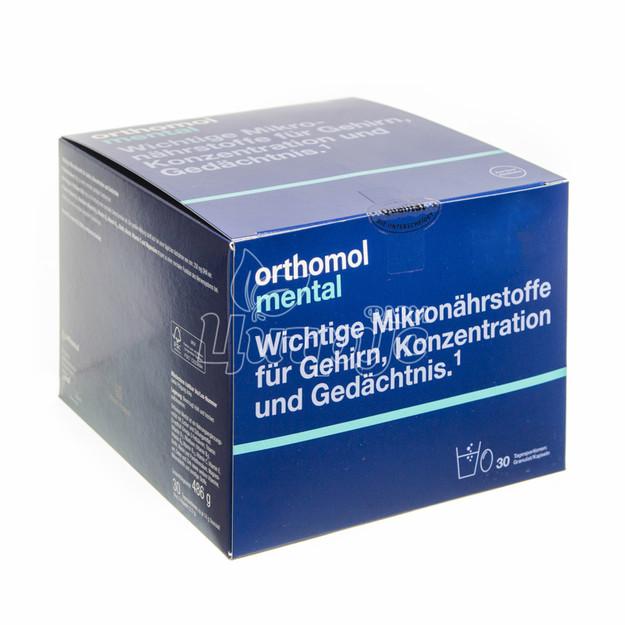 Ортомол Ментал (Orthomol Mental) Набор гранулы + капсулы 30 штук