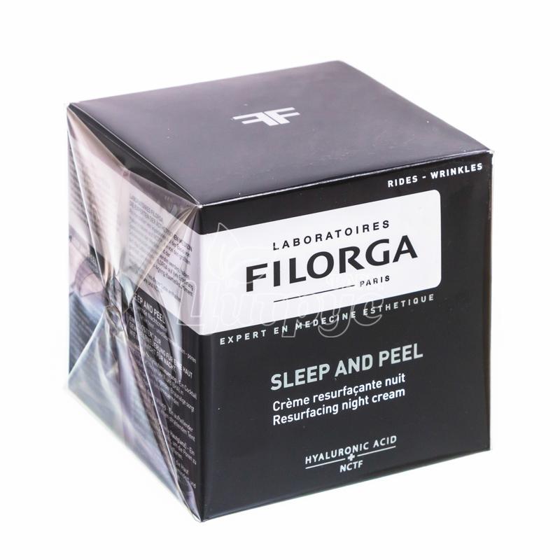фото 1/Филорга Слип энд пил (Filorga Sleep and peel) Крем разглаживающий ночной 50 мл