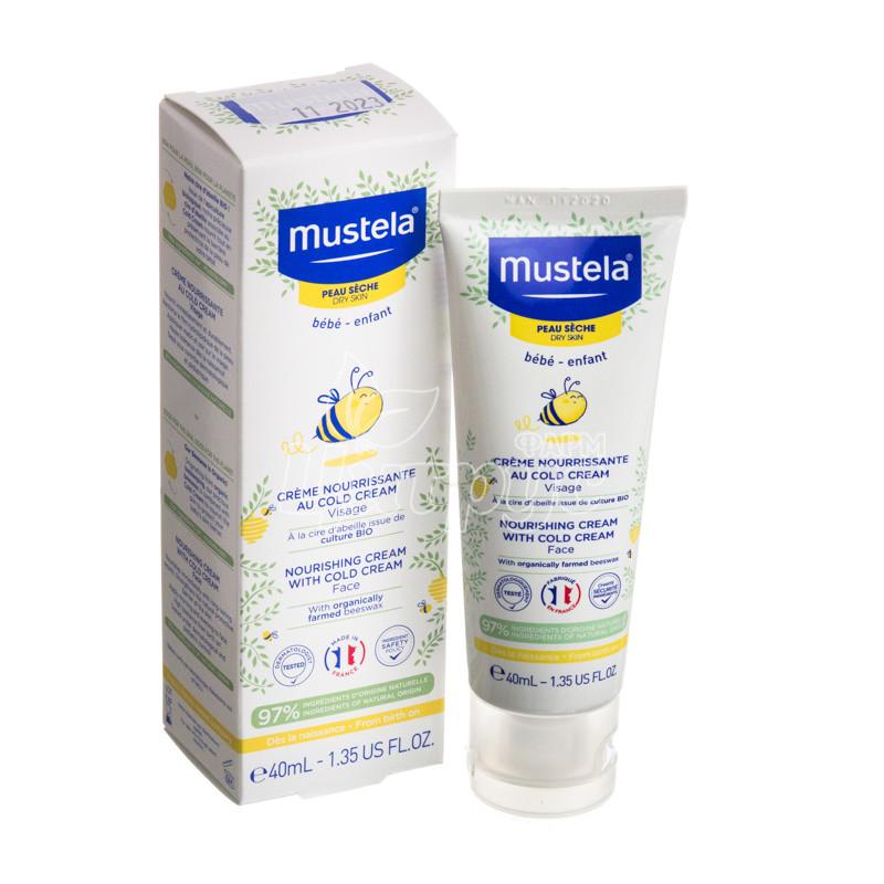 фото 1-1/Мустела Беби Колд крем (Mustela Bebe Cold cream) Крем питательный для очень сухой кожи 40 мл