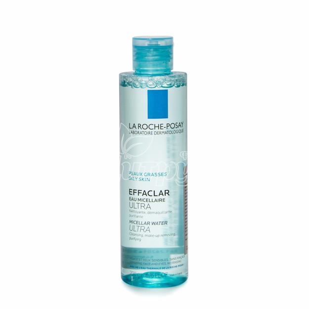 Ля Рош Позе Эфаклар (La Roche Posay Effaclar) Жидкость для очищения и снятия макияжа 200 мл