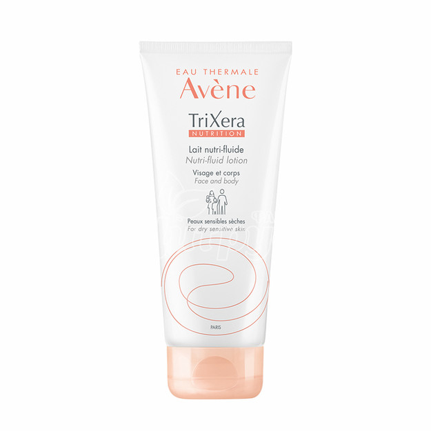 Авен Триксера (Avene Trixera) Молочко для питания сухой и чувствительной кожи лица и тела 200 мл