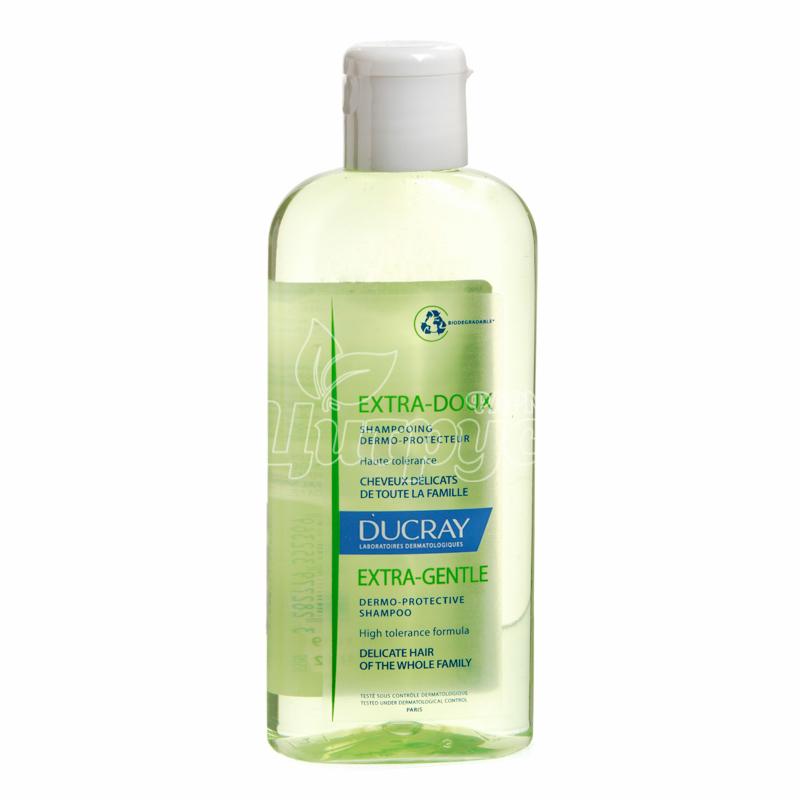 фото 1-1/Дюкрей Экстра-Ду (Ducray Extra-Doux) Шампунь защитный для чувствительной кожи головы 200 мл