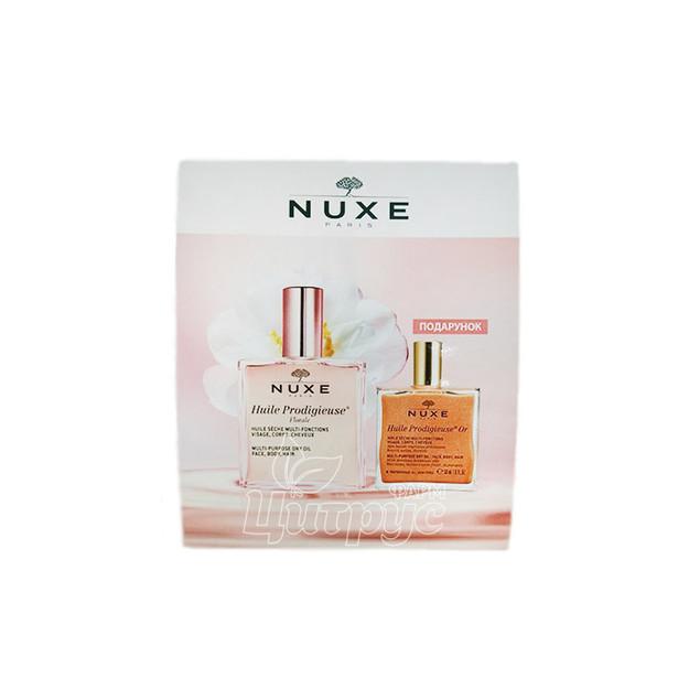 Набор Нюкс Хайли Продижьез (Huile Prodigieuse) Масло сухое чудесное 100 мл + масло сухое золотое 50 мл