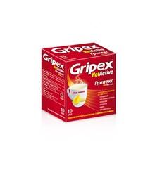 Грипекс хотактив порошок саше 4 г 10 штук