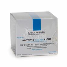 Ля Рош Позе Нутритик Интенс Риш (La Roche Posay Nutritic) Крем питательный реконструирующий для сухой и очень сухой кожи лица 50 мл