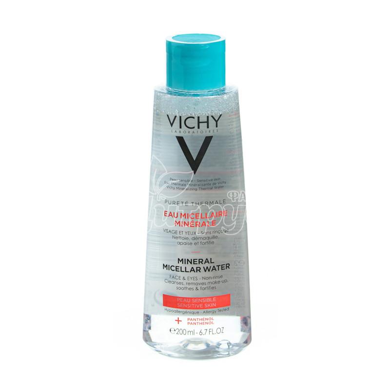 фото 1-1/Виши Пюрте Термаль (Vichy Purete Thermale) Мицеллярная вода для чувствительной кожи 200 мл