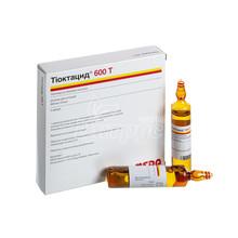 Тиоктацид 600Т раствор для инъекций ампулы 600 мг по 24 мл 5 штук