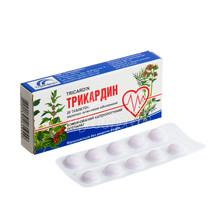 Трикардин таблетки покрытые оболочкой 20 штук