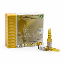 Алфлутоп раствор для инъекций ампулы 1% по 1 мл 10 штук