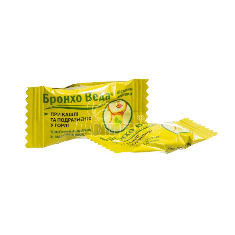 фото 1-2/Бронхо веда со вкусом лимон леденцы 300 штук
